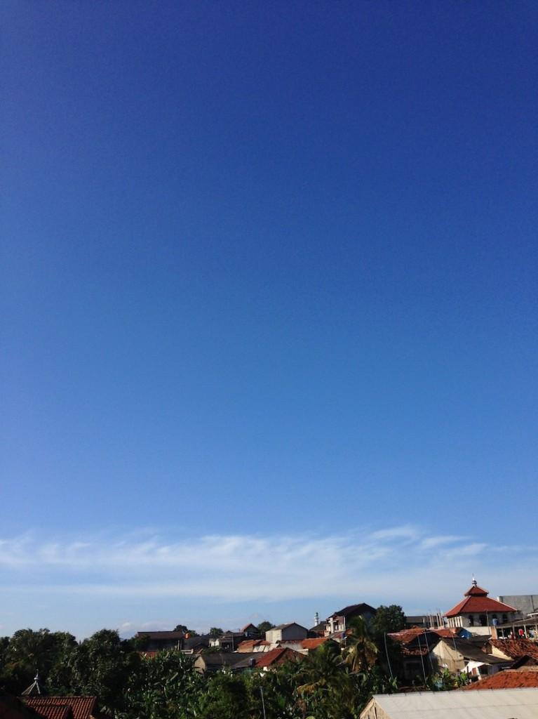 morning sky in ciputat